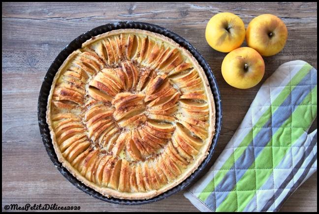 tarte pommes cannelle 2C Tarte aux pommes et à la cannelle