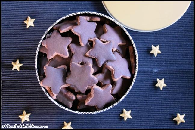 étoiles chocolat 3C {Bredeles} Etoiles au chocolat