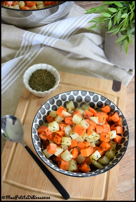 duo carottes navets thym 2020 1C Duo de carottes et navets au thym