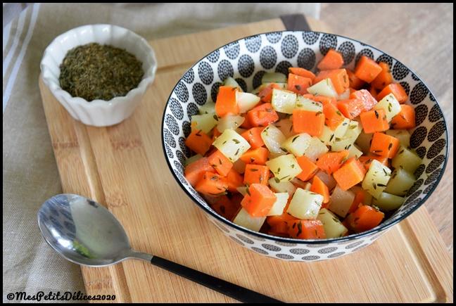 duo carottes navets thym 2020 2C Duo de carottes et navets au thym