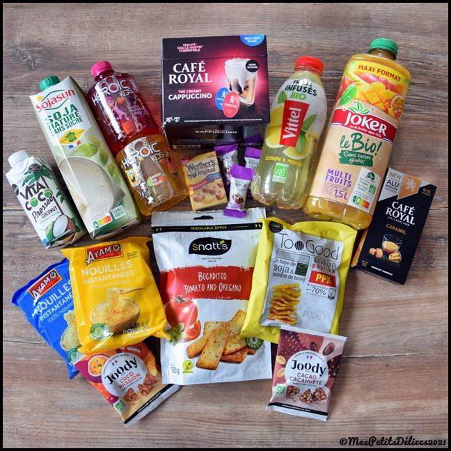 degustabox 012021C Nouilles chinoises au poulet et légumes