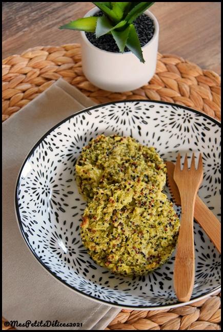 galettes brocoli quinoa 1C Galettes de quinoa au brocoli