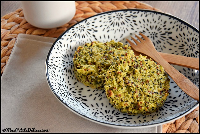 galettes brocoli quinoa 2C Galettes de quinoa au brocoli