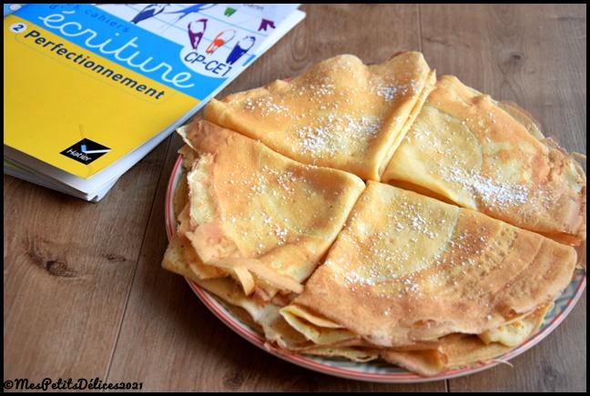 crepes 1C Pâte à crêpes : recette de base